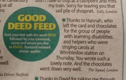 Good Deed Feed